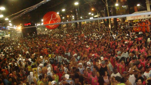 The population of Salvador temporarily doubles during Carnaval